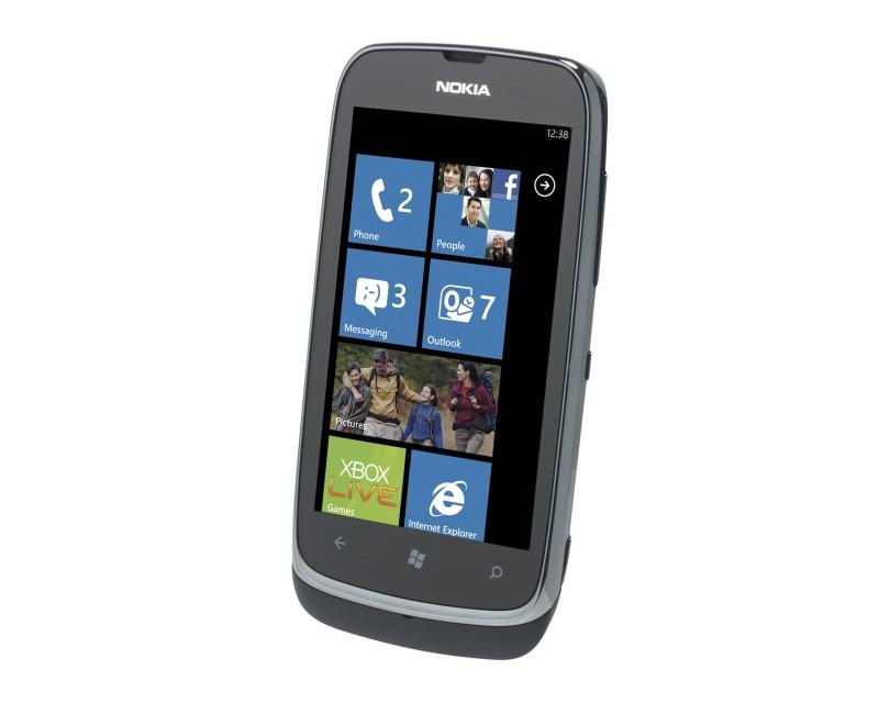 mass memory of nokia lumia 610
